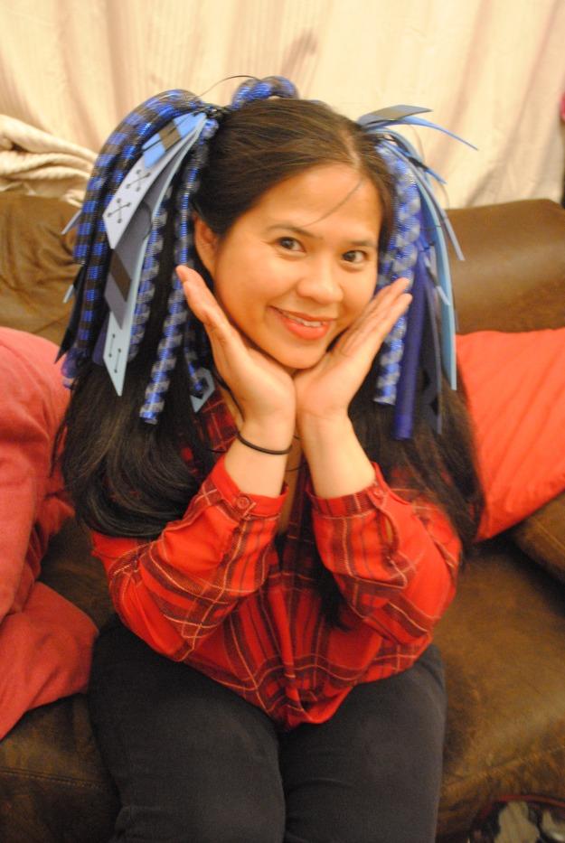 Cyberlox ponytails